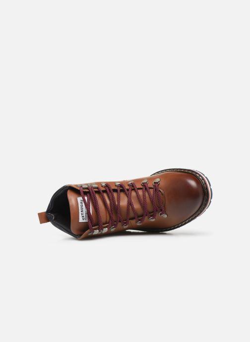 Bottines et boots Pataugas Neo C Marron vue gauche