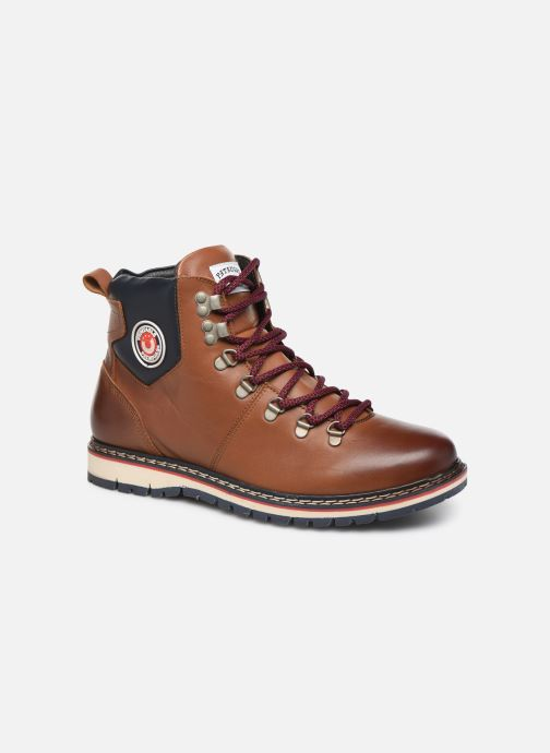 Bottines et boots Pataugas Neo C Marron vue détail/paire
