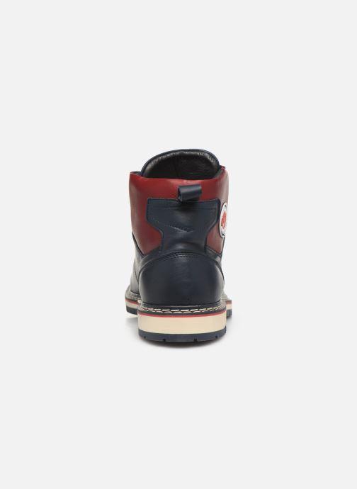 Bottines et boots Pataugas Neo C Bleu vue droite