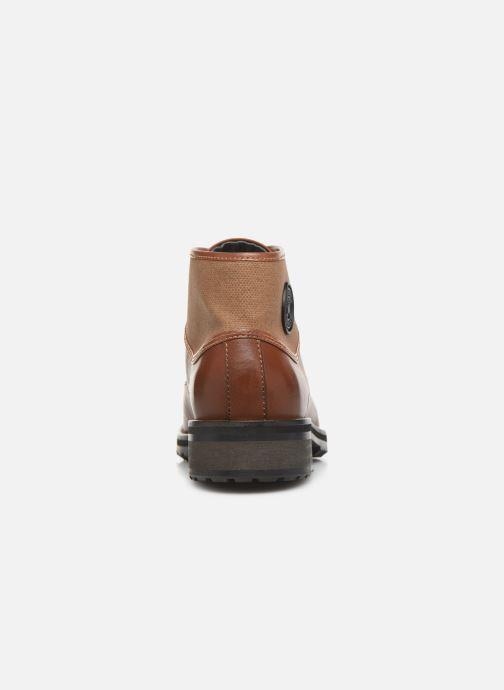 Bottines et boots Pataugas Travis C Marron vue droite