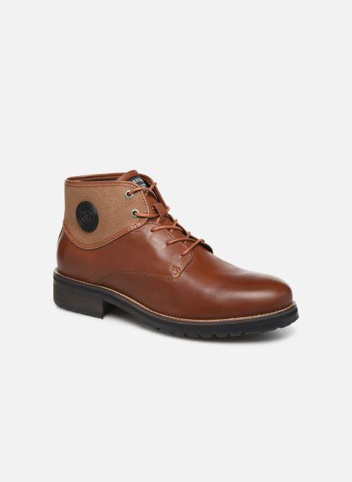 Bottines et boots Pataugas Travis C Marron vue détail/paire
