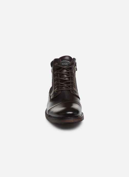 Stiefeletten & Boots Pataugas Florian C braun schuhe getragen