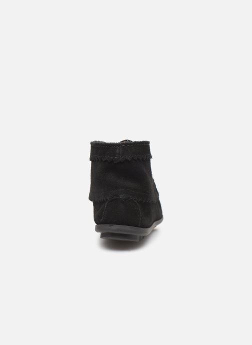 Bottines et boots Minnetonka Suede Ankle Boot Noir vue droite