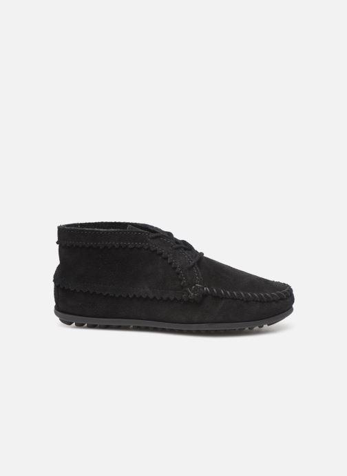 Bottines et boots Minnetonka Suede Ankle Boot Noir vue derrière