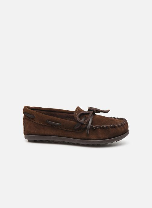 Mocasines Minnetonka Boy'S Moc Marrón vistra trasera