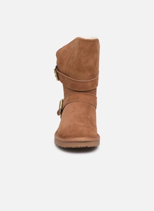 Bottines et boots Minnetonka Abey Marron vue portées chaussures