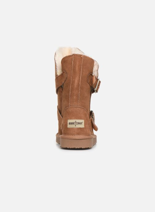 Bottines et boots Minnetonka Abey Marron vue droite