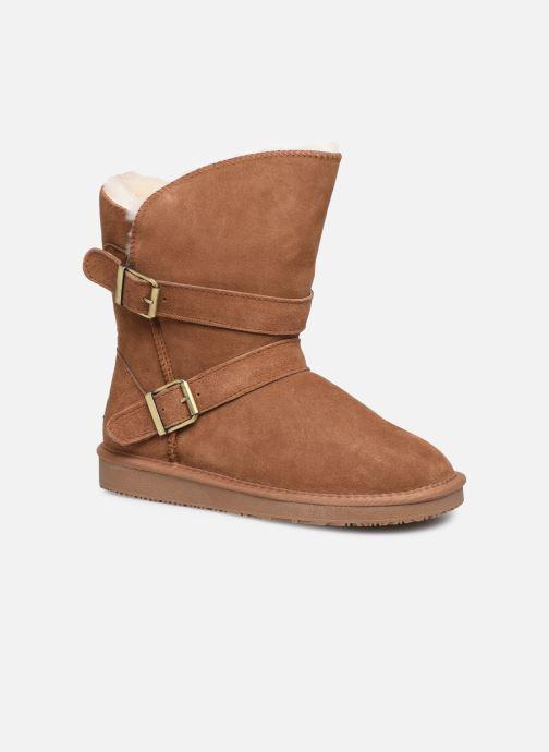 Bottines et boots Minnetonka Abey Marron vue détail/paire