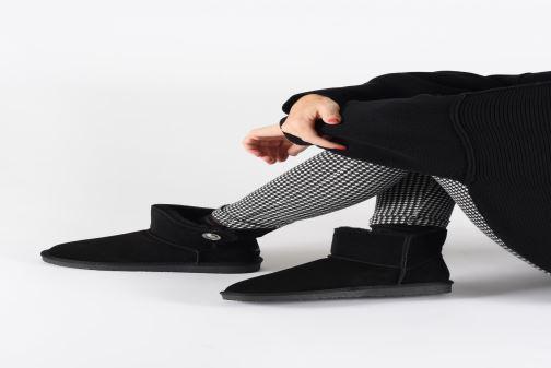 Bottines et boots Minnetonka Chayton Bleu vue bas / vue portée sac