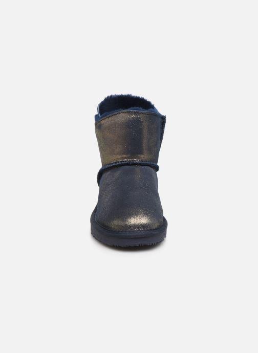 Bottines et boots Minnetonka Chayton Bleu vue portées chaussures
