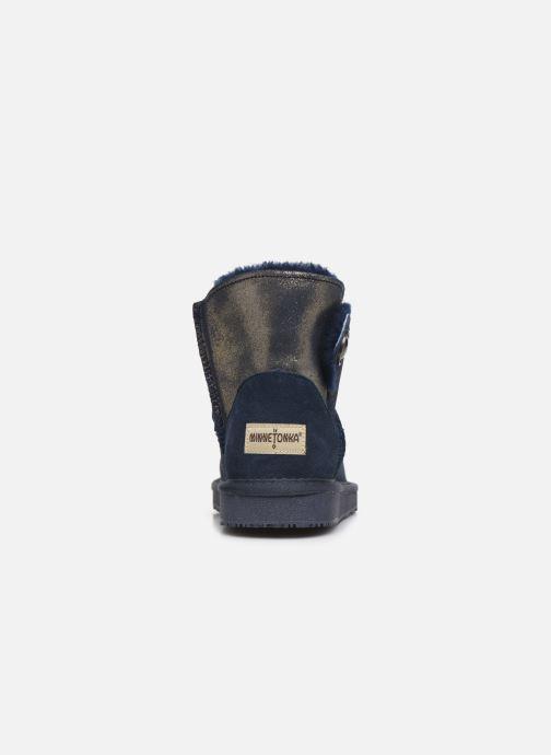 Bottines et boots Minnetonka Chayton Bleu vue droite