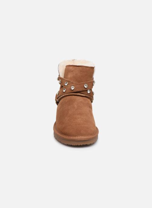 Bottines et boots Minnetonka Eyota Marron vue portées chaussures