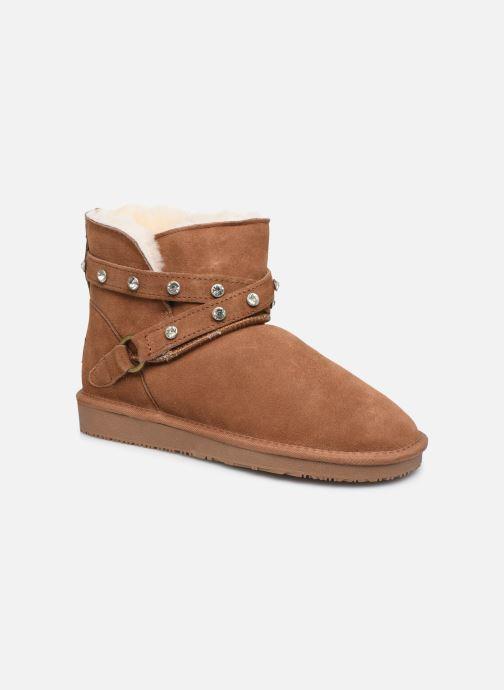 Bottines et boots Minnetonka Eyota Marron vue détail/paire