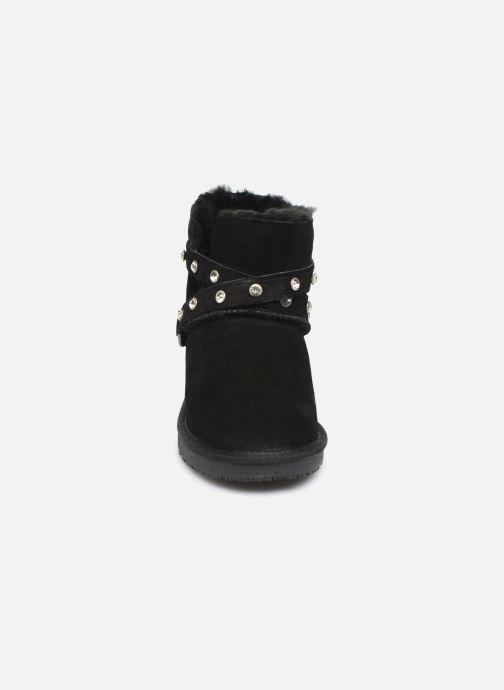 Bottines et boots Minnetonka Eyota Noir vue portées chaussures
