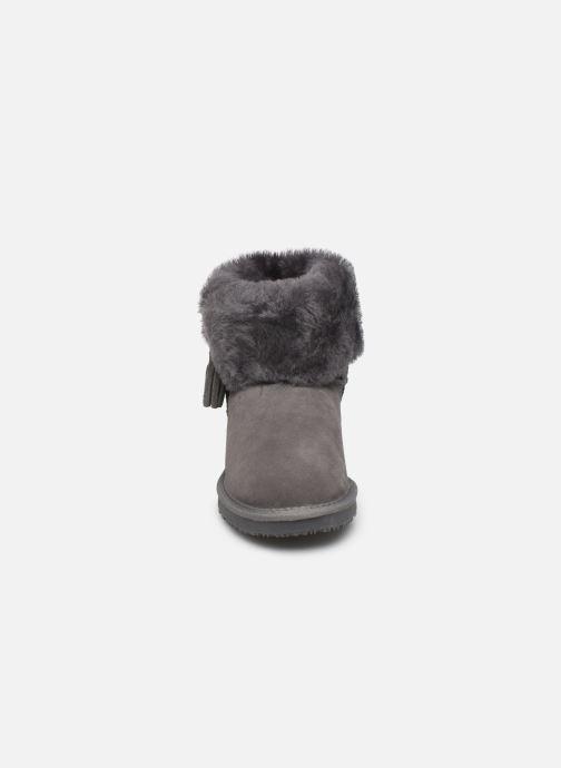 Bottines et boots Minnetonka Halona Gris vue portées chaussures
