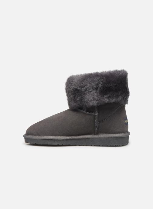 Bottines et boots Minnetonka Halona Gris vue face