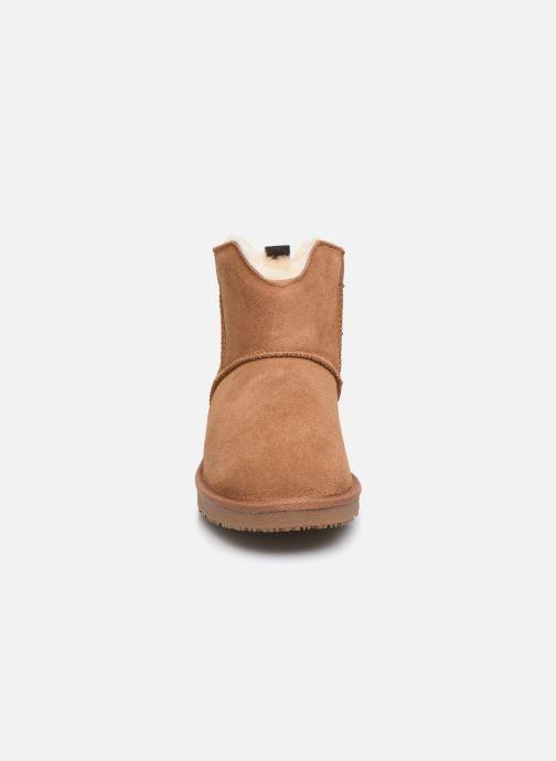 Bottines et boots Minnetonka Hateya Marron vue portées chaussures