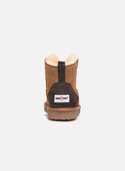 Bottines et boots Minnetonka Hateya Marron vue droite