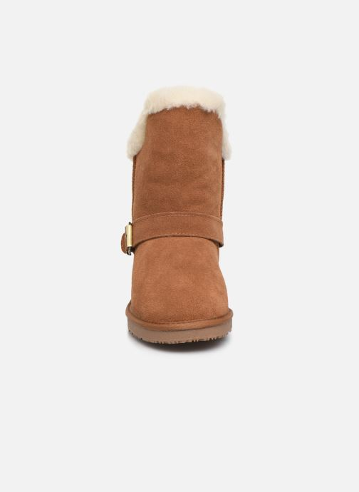 Bottines et boots Minnetonka Kachina Marron vue portées chaussures