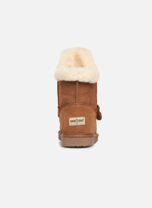 Bottines et boots Minnetonka Kachina Marron vue droite