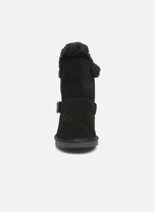 Bottines et boots Minnetonka Kachina Noir vue portées chaussures