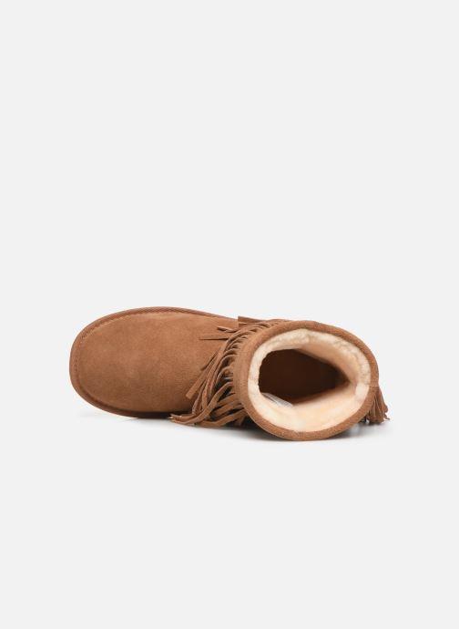 Bottines et boots Minnetonka Kanda Marron vue gauche