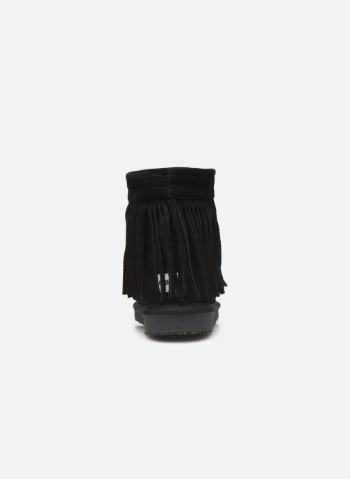 Bottines et boots Minnetonka Kanda Noir vue droite