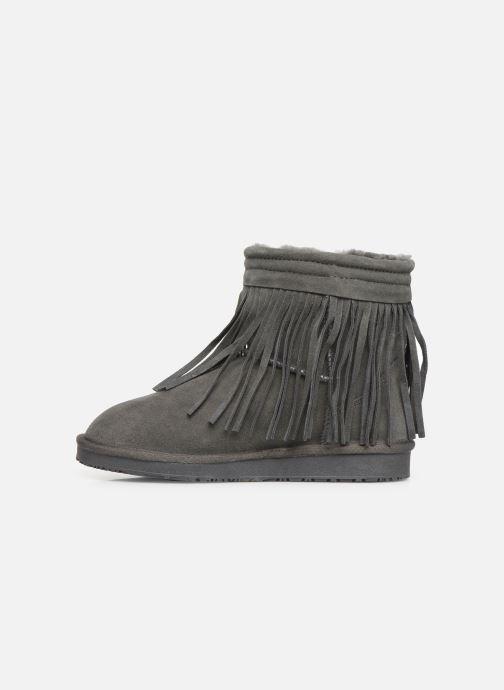 Bottines et boots Minnetonka Kanda Gris vue face