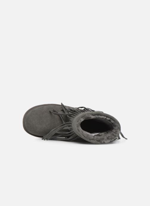 Bottines et boots Minnetonka Kanda Gris vue gauche