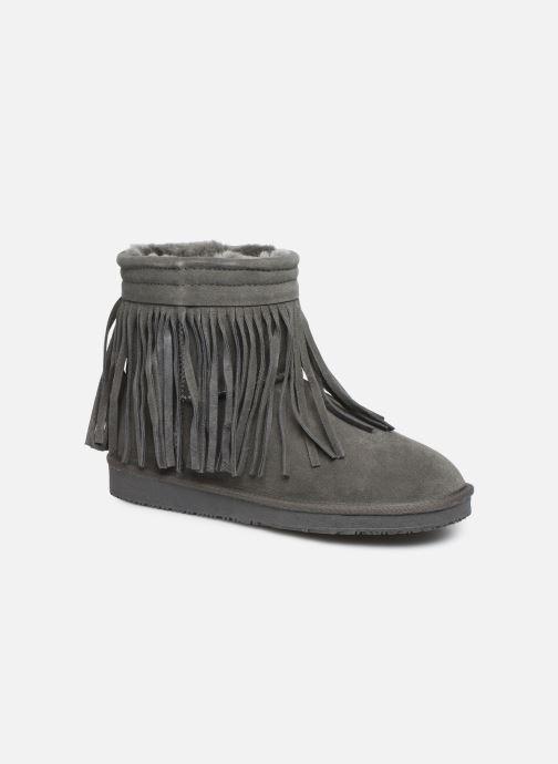 Bottines et boots Minnetonka Kanda Gris vue détail/paire