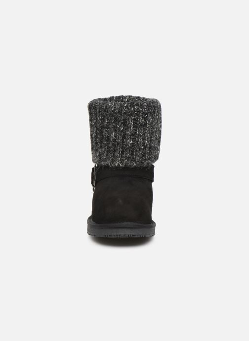 Bottines et boots Minnetonka Kaya Noir vue portées chaussures