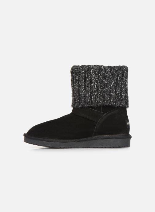 Bottines et boots Minnetonka Kaya Noir vue face