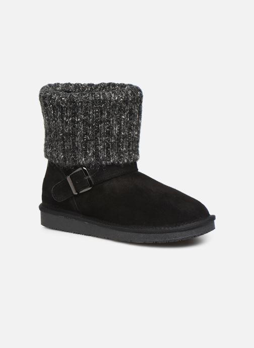Bottines et boots Minnetonka Kaya Noir vue détail/paire