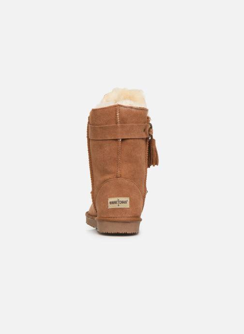 Støvler & gummistøvler Minnetonka Kiona Brun Se fra højre
