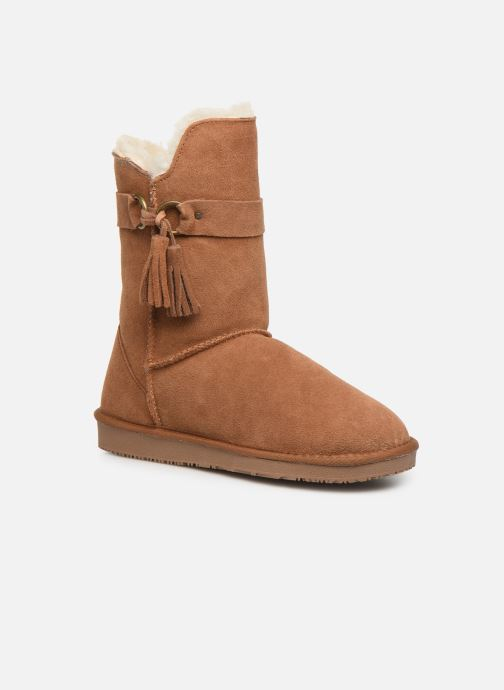 Støvler & gummistøvler Minnetonka Kiona Brun detaljeret billede af skoene