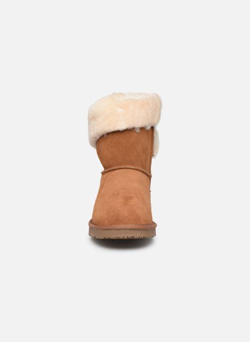 Bottines et boots Minnetonka Leotie Marron vue portées chaussures