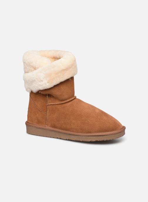 Bottines et boots Minnetonka Leotie Marron vue détail/paire