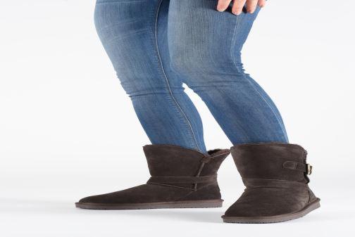 Bottines et boots Minnetonka Lulu Noir vue bas / vue portée sac