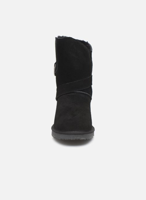 Bottines et boots Minnetonka Lulu Noir vue portées chaussures