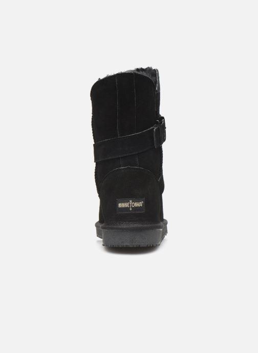 Bottines et boots Minnetonka Lulu Noir vue droite