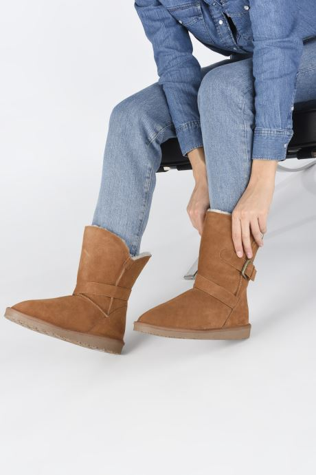 Bottines et boots Minnetonka Lulu Marron vue bas / vue portée sac