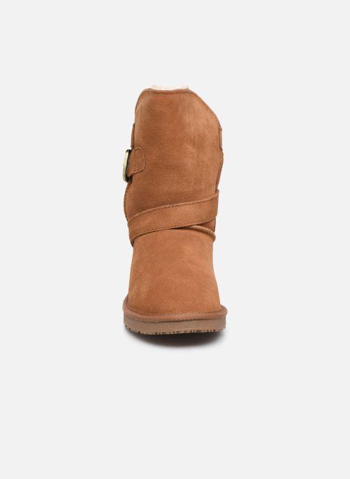 Bottines et boots Minnetonka Lulu Marron vue portées chaussures
