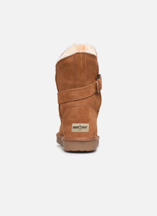 Bottines et boots Minnetonka Lulu Marron vue droite