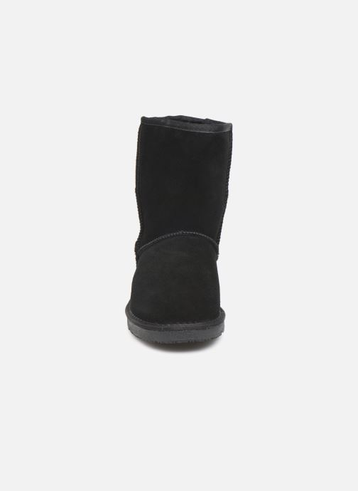 Bottes Minnetonka Adika Noir vue portées chaussures
