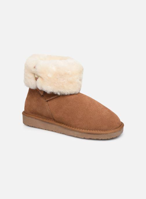 Bottines et boots Minnetonka Binook Marron vue détail/paire