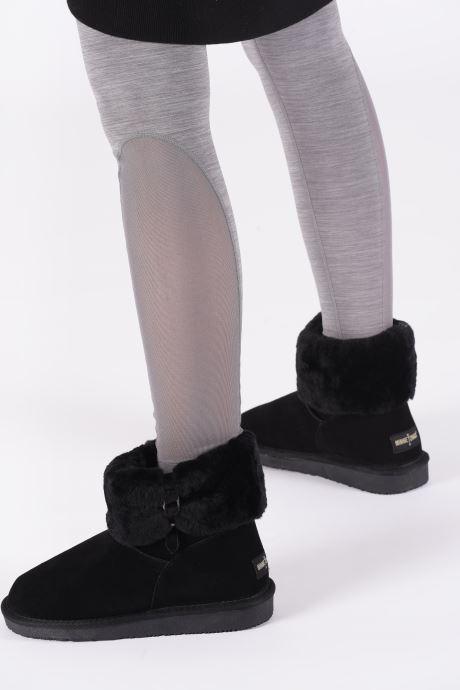 Stiefeletten & Boots Minnetonka Binook schwarz ansicht von unten / tasche getragen