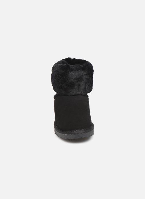 Bottines et boots Minnetonka Binook Noir vue portées chaussures