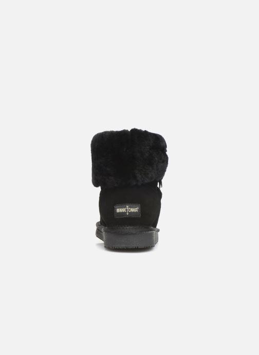 Bottines et boots Minnetonka Binook Noir vue droite