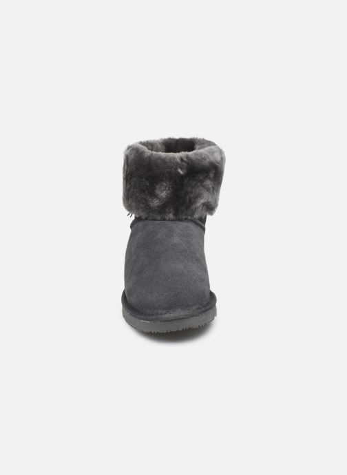 Bottines et boots Minnetonka Binook Gris vue portées chaussures
