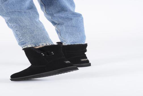 Bottines et boots Minnetonka Danaa Noir vue bas / vue portée sac
